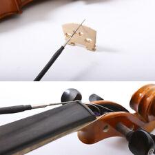 2Pcs 4/4 Violin Bridge String slot Cutter file Luthier Making Repair tools