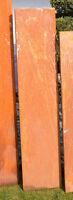 Cortenstahlstelen Metall Sichtschutz Stelen CORTENSTAHL 1600-750-OR