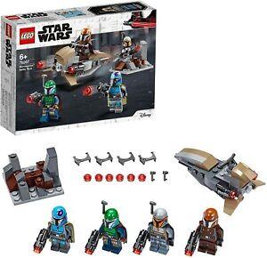 LEGO 75267 Star Wars Mandalorian Battle Pack Set inc 4 Minifigures, Speeder Bike