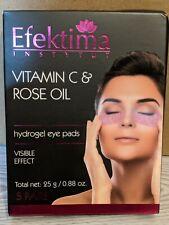Efektima Instytut Vitamin C & Rose Oil Hydrogel Eye Pads, 5 Pairs, Poland
