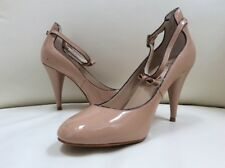 m&s nude ankle straps autograph Patent Size 3.5 Shoes Work Office Summer