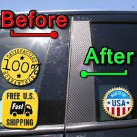 CARBON FIBER Di-Noc Pillar Posts for Toyota Camry 92-96 6pc Set Door Trim Cover