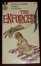 ' THE ENFORCER ' by Ovid DEMARIS : 1st. Edition UK Paperback : 1961.