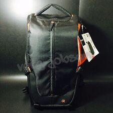 SONY LCS-BP2 Bag Backpack Sling BLACK for Cameras Lens Flash Original Brand New