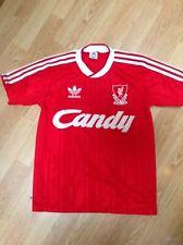Liverpool home shirt. 1988 1989. Candy. Small. Rare. Adidas.