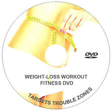 FITNESS WORKOUT FOR WEIGHT LOSS DVD EXERCISES SHRED WEIGHT FAT BURNER CARDIO ABS