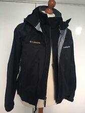 Women's Columbia Titanium Peak Black Shell Jacket 2-in-1 OMNI-TECH XL NISSAN