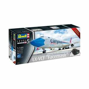 "Revell 1:144 Boeing 747-8F™ Cargolux ""Facemask"" Aircraft Model Kit - 03836"