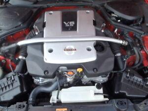NISSAN 350Z 350-Z ENGINE 3.5 V6 ENGINE VERY LOW MILEAGE 2008 BREAKING PART