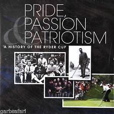 Ryder Cup Pride Passion Patriotism Golf CD PGA History Premier Licensed New