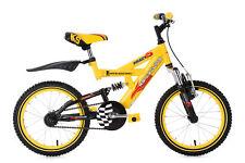 Kindermountainbike Kinderfahrrad 16 Zoll Krazy gelb-schwarz KS Cycling 643K