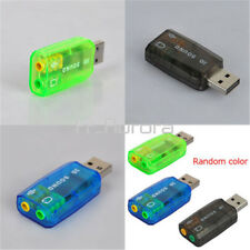 CM108 Chipset USB 2.0 to 3D AUDIO SOUND CARD ADAPTER VIRTUAL 5.1 CHSound Track