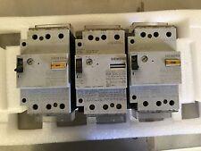 Siemens Motor Circuit starter protector 3VU1600-1MH00 LOT of 3
