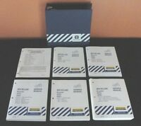 FORD NEW HOLLAND BOOMER 4055 4060 TRACTOR SERVICE REPAIR MANUAL SET MINTY
