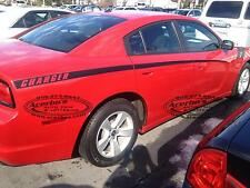 DODGE CHARGER 2011 2012 2013 2014 Body Stripes,Side GRAPHICS Decal, Set of 2