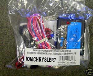 NEW Directed DEI IOM-CHRYSLER-7 Chrysler Door Lock / RS Module IOMCHRYSLER7