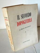 Scoccimarro,IL SECONDO DOPOGUERRA.QUINQUENNIO CLERICALE'56[storia,piano Marshall