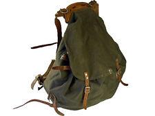 Nordic Backpack Rucksack Canvas Leather Iron Frame Supergrade Vintage 1930s 40s