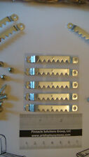 "50 LARGE SAWTOOTH PICTURE FRAME HANGERS 100 # 6 1/2"" SCREWS + FREE SAMPLE PACK"