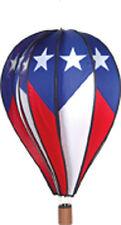 "Hot Air Balloon Style Wind Spinner, 26"" Patriotic..27..PR 25918"