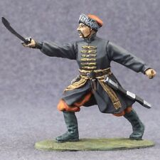 Metal Toy Soldiers Painted Action Figures Medieval Cossack 1/32 scale 54mm