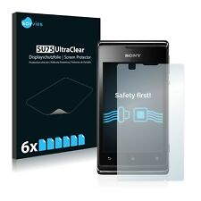 6x Savvies Screen Protector for Sony Xperia E C1505 Ultra Clear