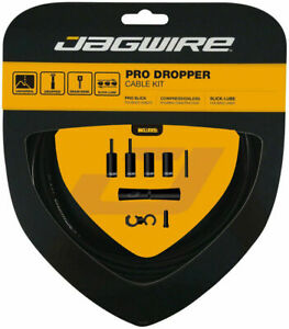 Jagwire Pro Dropper Seat Post Cable Kit Pro Polished Slick Stainless 0.8mm