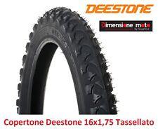 """Copertone """"deestone"""" 16x1 75 D-202 Nero tassellato per bici 16"""" BMX Freestyle"""