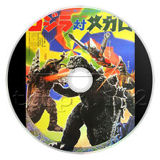 Godzilla vs. Megalon (1973) Classic Japanese Monster Movie / Film on DVD