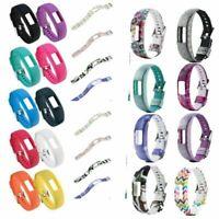 Replacement Silicone Bracelet Watch Bands Strap for Garmin Vivofit 4 Tracker