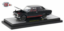 Auto-Japan Release 40300-JPN01 1970 Datsun 510 (Black) 1/24 M2 MACHINES Diecast