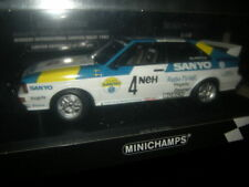 1:18 Minichamps Audi Quattro Sweden Rallye Limited Edition 1 of 350 pcs in OVP