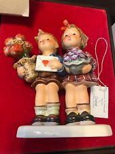 Hummel Goebel 50 Year Jubilee #416 The Love Lives On. Original Satin lined box.