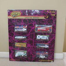 Vintage 8 Road Champs Deluxe Fire Engine Pepsi Truck Winnebago Store Display NOS