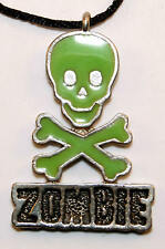 Vintage Necklace Rob Zombie Hellbilly Deluxe NEW old stock - RARE - 1998 - white