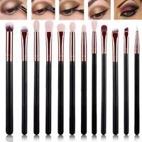 12Pcs*Eye Shadow Kits Foundation Brush Make Up Cosmetic Brush Professional UKYQ