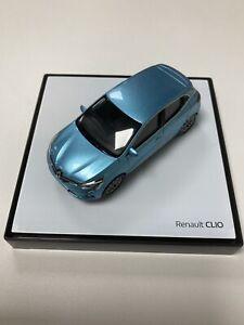 Miniature Renault Clio BJA Blue 1/43