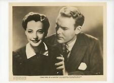 ONE THIRD OF NATION Original Movie Still 8x10 Sylvia Sidney 3 Pin Hole 1938 7188