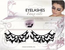 Bats Eyelashes Vampire Paper Lashes Fancy Dress Up Halloween Costume Accessory