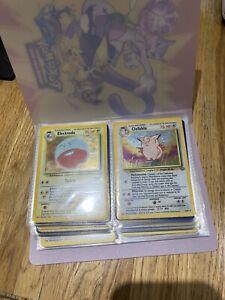 Jungle Set Pokemon Cards NM/M Complete 64/64 WOTC Excellent Condition 1999