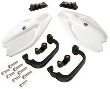 Plástico Blanco paramanos protectores MX SM se ajusta genérico gatillo 50 X 9