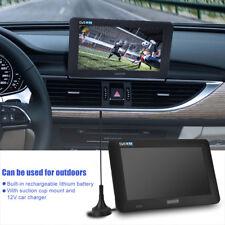 """9 """" TFT LED Tragbar Mini TV DVB-T-T2 16: 9 HD Digital Analog Fernseher für Auto"""
