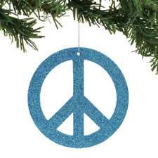 Department 56 Peace Symbol Ornament 6001173 Snowbabies Snowbaby Dept New