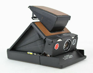 Vintage Black Polaroid SX-70 Alpha 1 Model 2 Land Camera, Instant Film