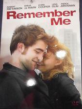 REMEMBER ME - DVD - CON SLIPCASE - visitate il negozio ebay COMPRO FUMETTI SHOP