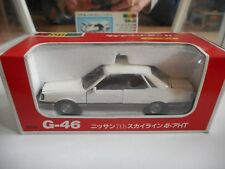 Yonezawa Diapet Nissan 7th Sky,ine 4-Door Hardtop in White on 1:40 in Box