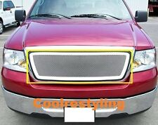 FOR 04~08 Ford F150  F-150 Stainless Wire Mesh grille Insert 1pc upper