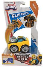 """NEW Hasbro Playskool Heroes TRANSFORMERS Rescue Bots 2.5"""" Flip Racers BUMBLEBEE"""