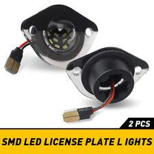 For 1994 2004 Mustang Rear License Plate Light Lenses Covers 194 Led Lamp Bulbs