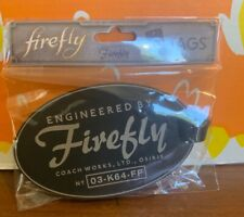 Loot Crate Firefly Serenity luggage tag, Nip, use on your Serenity trip!